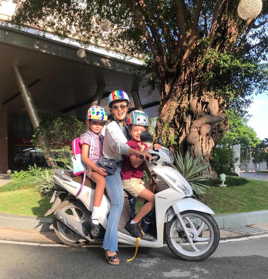 Diva Hồng Nhung tự hào khi hai con nhỏ biết nặng lòng chuyện lớn của trái đất-3