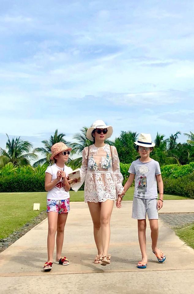 Diva Hồng Nhung tự hào khi hai con nhỏ biết nặng lòng chuyện lớn của trái đất-4