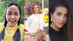 Bản tin Hoa hậu Hoàn vũ 28/8: H'Hen Niê tết tóc sam cực xinh, 'cướp' sạch sóng của Phạm Hương và dàn mỹ nữ