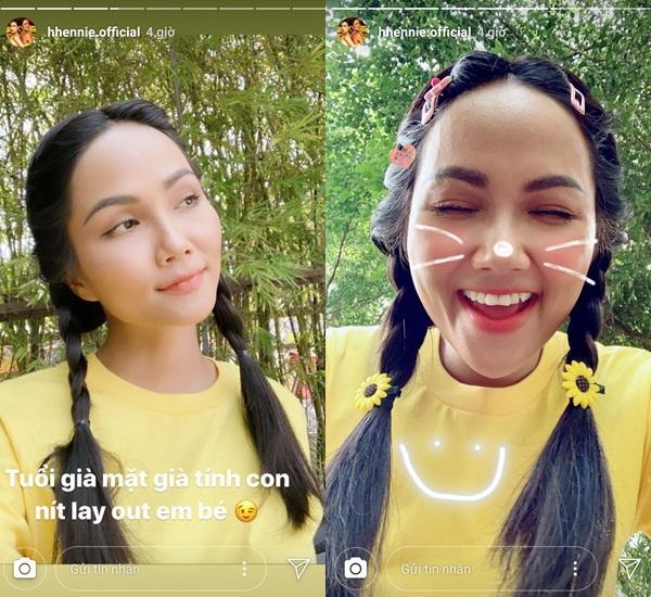 VZN News: Bản tin Hoa hậu Hoàn vũ 28/8: HHen Niê tết tóc sam cực xinh, cướp sạch sóng của Phạm Hương và dàn mỹ nữ-1