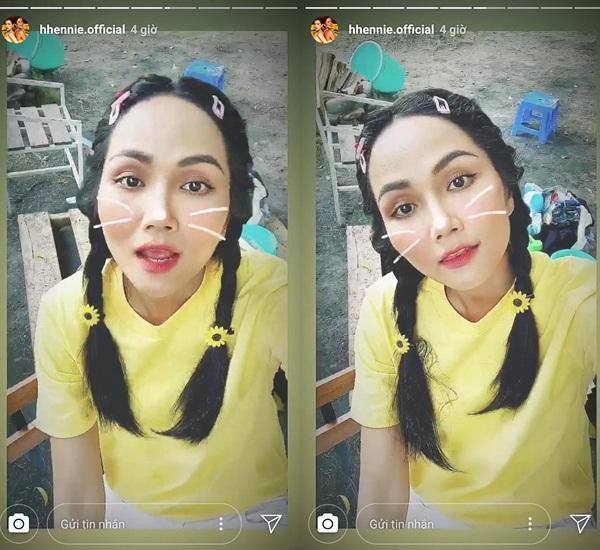 VZN News: Bản tin Hoa hậu Hoàn vũ 28/8: HHen Niê tết tóc sam cực xinh, cướp sạch sóng của Phạm Hương và dàn mỹ nữ-2