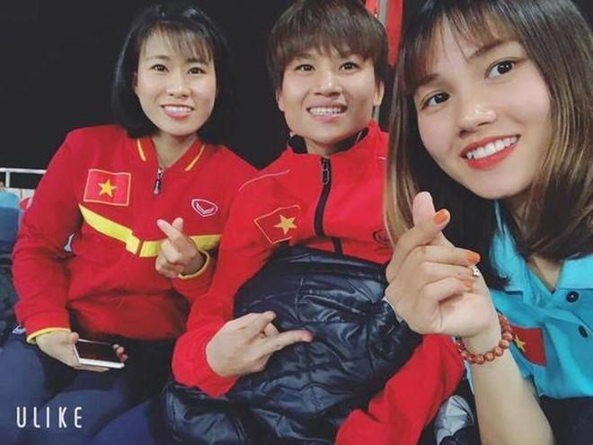 Nữ cầu thủ được dân mạng gọi là hoa khôi đội tuyển Việt Nam-4