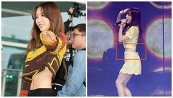 Phát hờn với vòng eo con kiến không mặc vừa cả size XS của Taeyeon (SNSD)
