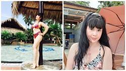 NSND Lan Hương đăng ảnh diện bikini, phủ nhận 'dao kéo' vòng một