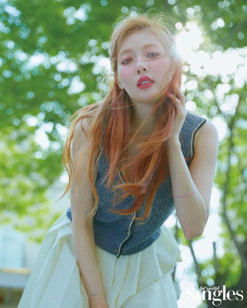 HyunA lấy lại phong độ, mạnh dạn khoe vòng 3 gợi cảm trong bộ đồ hầu gái-15