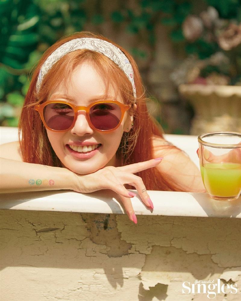 HyunA lấy lại phong độ, mạnh dạn khoe vòng 3 gợi cảm trong bộ đồ hầu gái-17