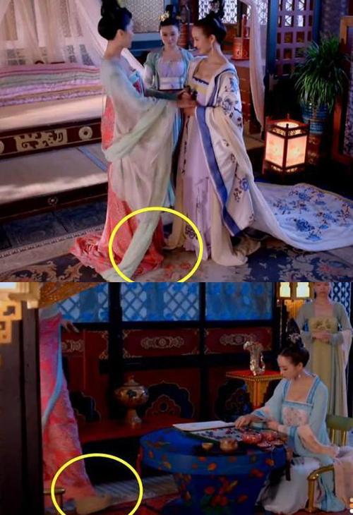 Bóc mẽ tuyệt chiêu ăn gian chiều cao tối đa của sao Hoa ngữ trong phim cổ trang-3