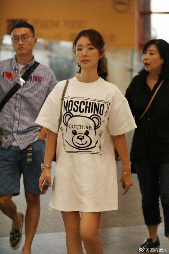 Dính tin đồn bầu bí, Lâm Tâm Như để mặt mộc, mặc đồ rộng thùng thình trở về Đài Loan-4
