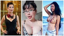 Dàn mỹ nhân trung niên của showbiz Việt khoe vòng 1 bốc lửa khiến ai lần đầu nhìn thấy cũng ngỡ ngàng
