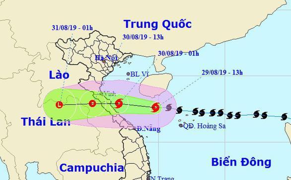 Ngày mai bão số 4 đổ bộ Nghệ An - Quảng Bình, cả nước mưa to-1