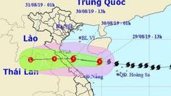 Ngày mai bão số 4 đổ bộ Nghệ An - Quảng Bình, cả nước mưa to
