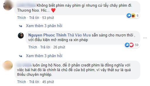 Noo Phước Thịnh kêu gọi tẩy chay phim Ngôi Nhà Bươm Bướm vì dám xài chùa nhạc-3