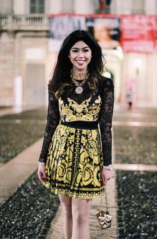 Phong cách sành điệu chuẩn con nhà giàu của em chồng Hà Tăng-2