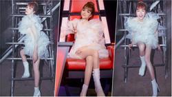 Nhìn sơ tưởng Hương Giang đi boots trắng siêu ăn ý với váy mà nhìn kỹ thì đau lòng vô cùng