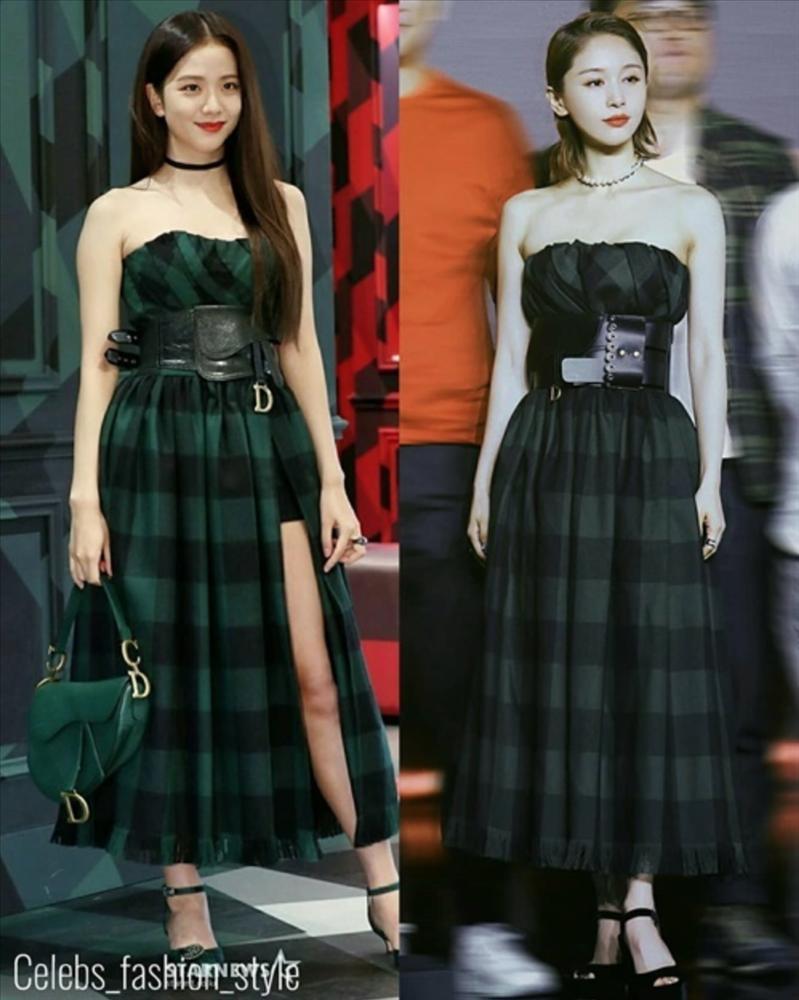 Cuộc chiến váy áo giữa Black Pink và mỹ nhân Trung Quốc-1