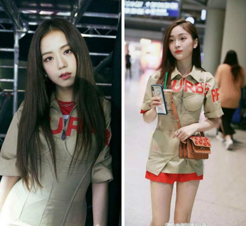 Cuộc chiến váy áo giữa Black Pink và mỹ nhân Trung Quốc-2