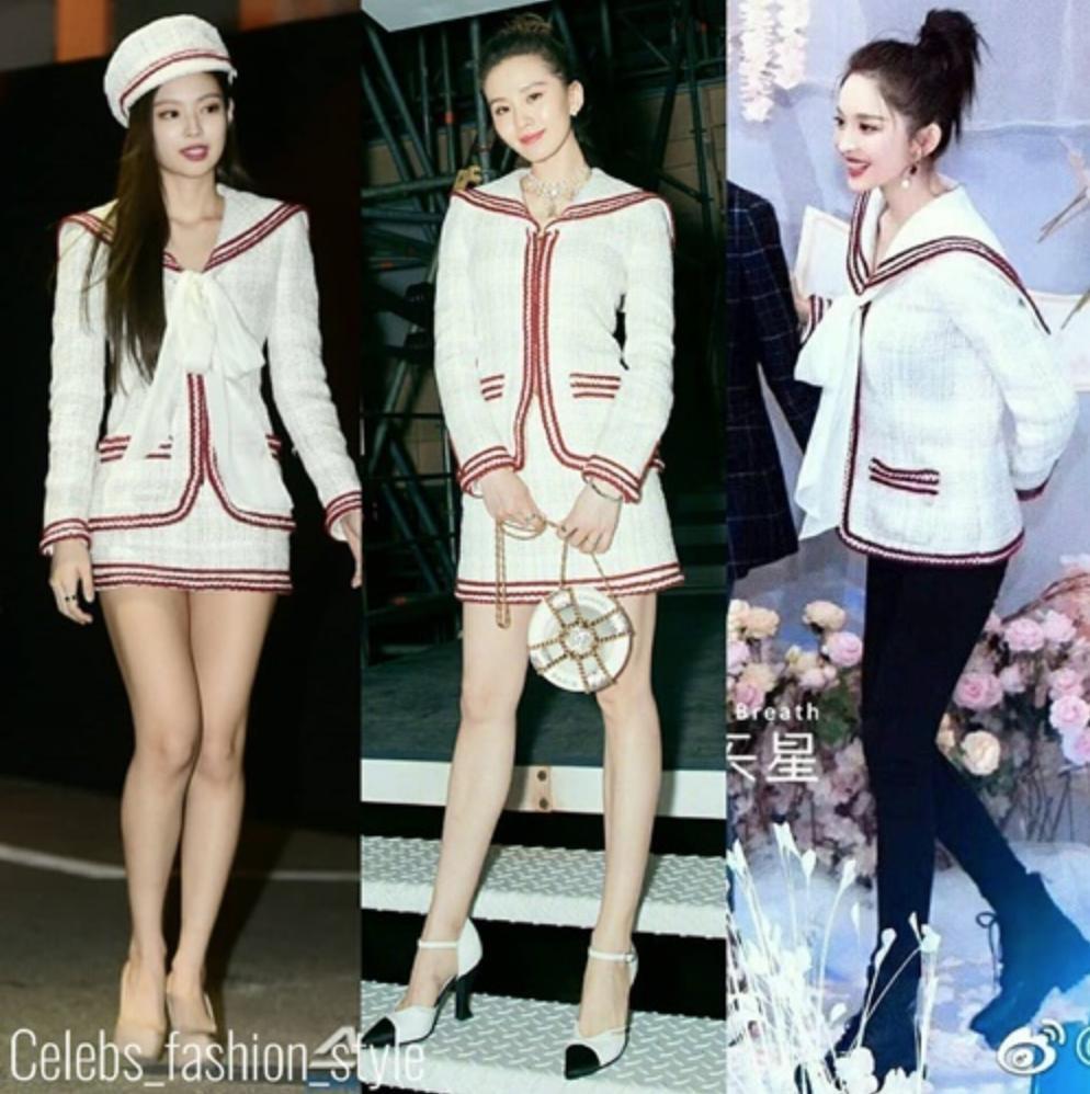 Cuộc chiến váy áo giữa Black Pink và mỹ nhân Trung Quốc-5