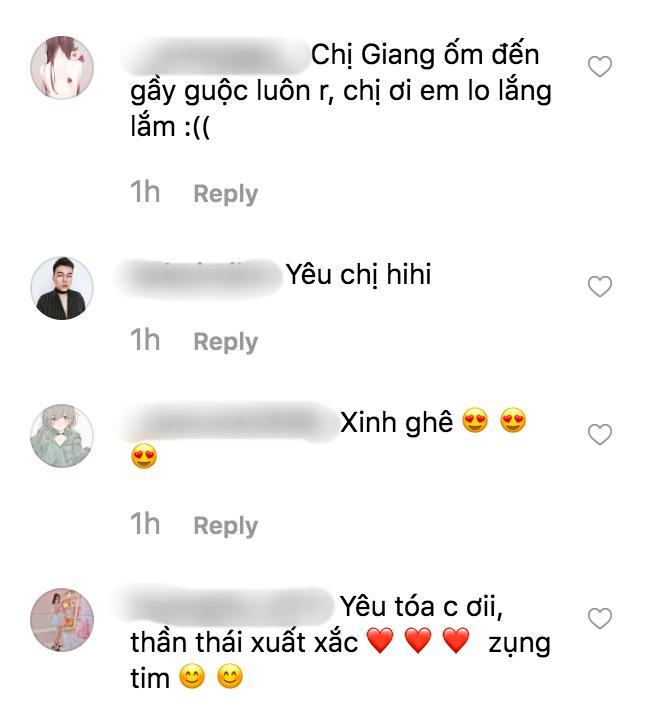 Hương Giang lại khiến fan lo lắng vì sự hốc hác khi để mặt mộc-3
