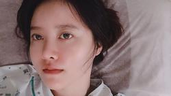 Goo Hye Sun nhập viện gấp để phẫu thuật khối u giữa bão ly hôn chấn động