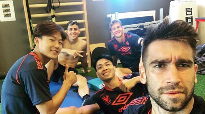 Công Phượng thân thiết với Messi Hàn vừa gia nhập đội bóng Bỉ-1