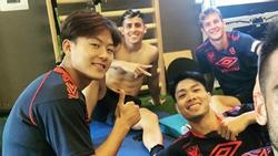 Công Phượng thân thiết với 'Messi Hàn' vừa gia nhập đội bóng Bỉ