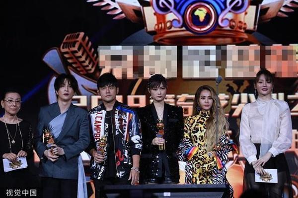 Châu Kiệt Luân và tình cũ Thái Y Lâm né nhau khi đứng trên sân khấu-1