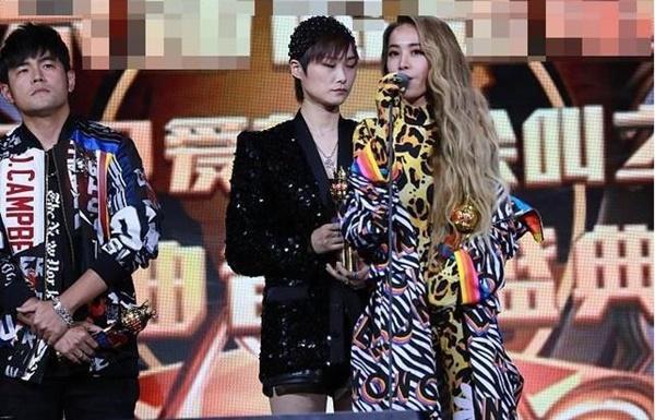 Châu Kiệt Luân và tình cũ Thái Y Lâm né nhau khi đứng trên sân khấu-2