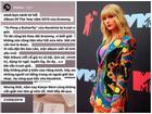'Hoàng tử Indie' Thái Vũ bị 'ném đá' vì sỉ nhục Taylor Swift, chỉ trích chuyện album của 'nàng rắn' chỉ viết về tình yêu