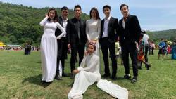 Đỗ Mỹ Linh lại bị ghét chỉ vì mặc áo dài trắng hơn dàn mỹ nhân toàn hoa hậu á hậu tại 'Cuộc đua kỳ thú 2019'
