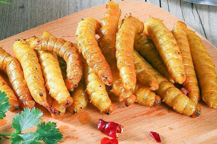 Loài sâu béo được người Trung Quốc nghiền ra ăn như thịt khiến ai cũng hãi hùng-5