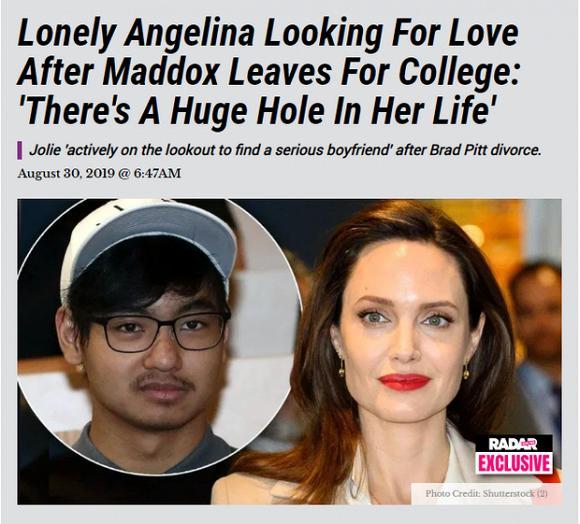 VZN News: Rộ tin Angelina Jolie vội tìm bạn trai mới vì quá cô đơn khi con cả Maddox đi du học-1