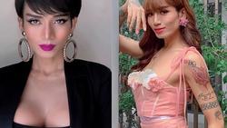 Chả phải lần đầu tiên giả gái nhưng BB Trần khiến cả showbiz Việt vào tranh cãi về bộ ngực khủng và mái tóc