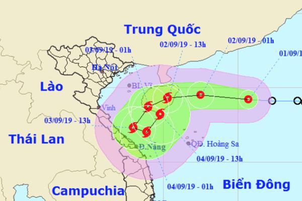 Áp thấp nhiệt đới có thể mạnh thành bão số 5, hướng đi lắt léo-1