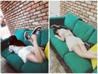 'Nữ hoàng sexy' HyunA nhận gạch đá vì loạt ảnh mặc váy ngắn ngả ngớn trên đi văng