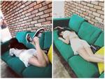 HyunA ăn mặc lôi thôi, để tóc xoăn xù rối bời đầu to gấp 3 lần người khác-7