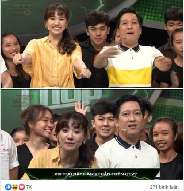 VZN News: Xuất hiện lấp ló phía sau Hari Won - Trường Giang, trai đẹp giật ngay spotlight vì biểu cảm quá thần thái-1