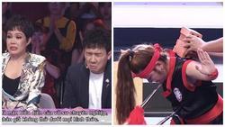 Cô gái đâm mũi thương vào yết hầu, công phá gạch khiến Trấn Thành - Việt Hương sợ xanh mặt