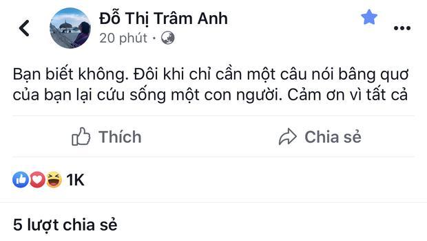 Gần 5 tháng sau scandal lộ clip nóng, hot girl Trâm Anh bất ngờ chia sẻ về người đặc biệt-3