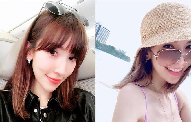 Vóc dáng chuẩn người mẫu ở tuổi 35 của vợ Lâm Chí Dĩnh-3