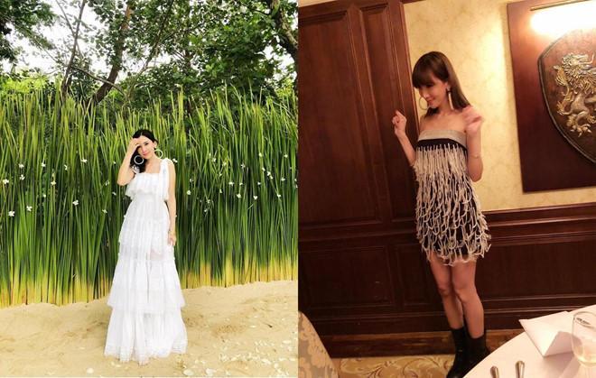 Vóc dáng chuẩn người mẫu ở tuổi 35 của vợ Lâm Chí Dĩnh-6