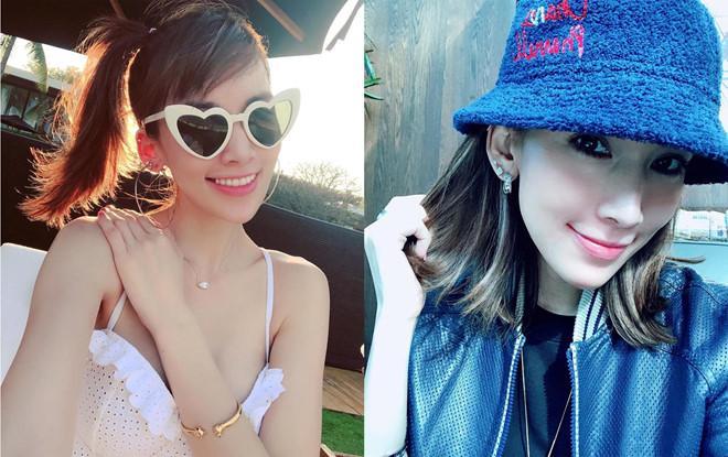 Vóc dáng chuẩn người mẫu ở tuổi 35 của vợ Lâm Chí Dĩnh-8