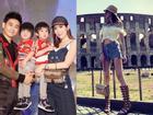Vóc dáng chuẩn người mẫu ở tuổi 35 của vợ Lâm Chí Dĩnh
