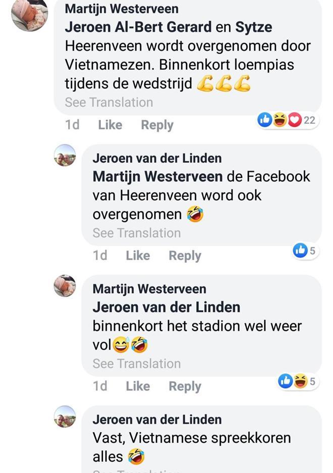 VZN News: Dân mạng Hà Lan: Fanpage Heerenveen sắp được tiếp quản bởi fan Việt?-2