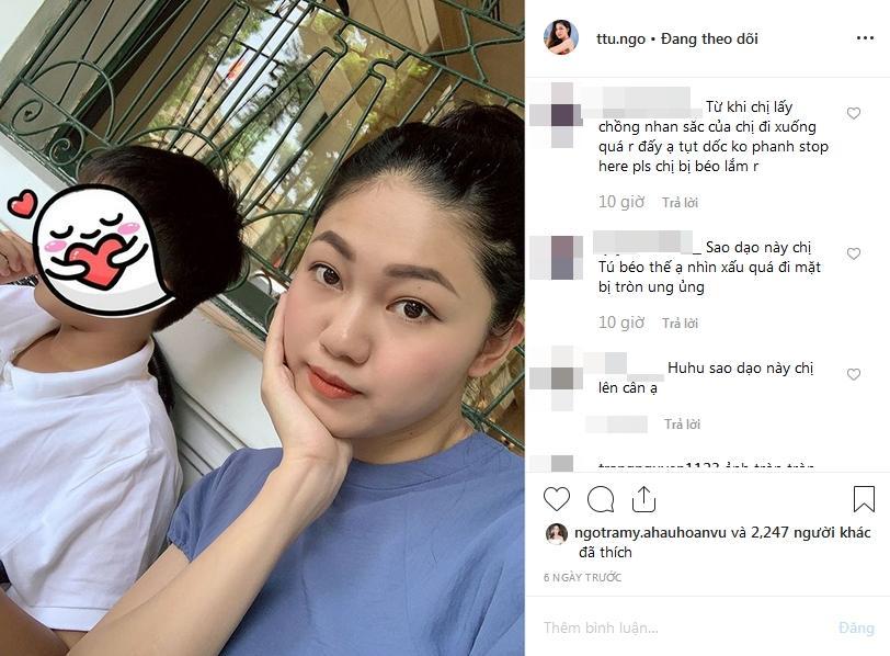 VZN News: Á hậu Thanh Tú sau sinh liên tiếp bị chê: Phá dáng và xuống sắc-4