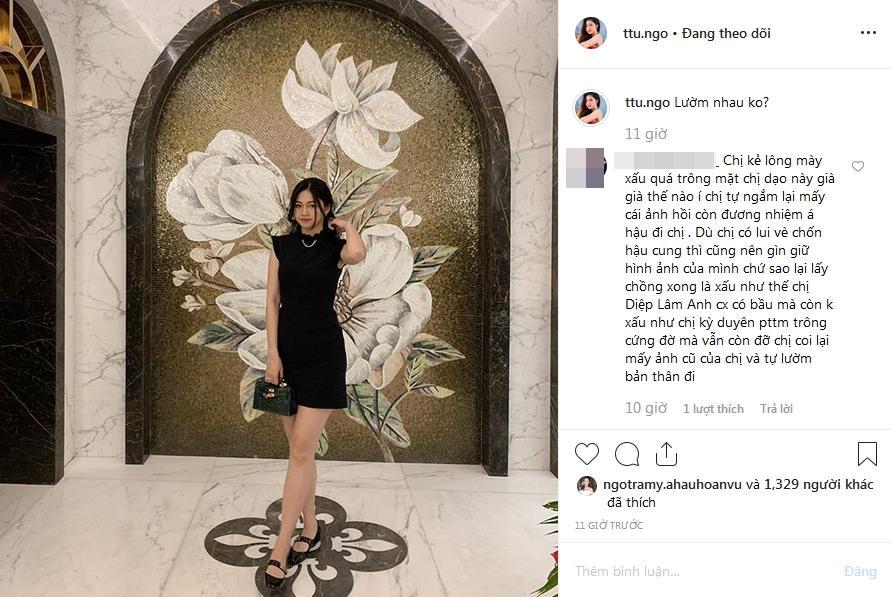 VZN News: Á hậu Thanh Tú sau sinh liên tiếp bị chê: Phá dáng và xuống sắc-5