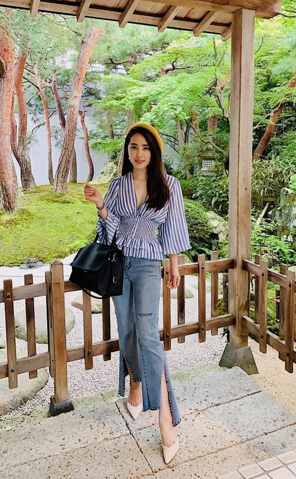 Hoa hậu Đặng Thu Thảo tự nhận mình tướng học sinh, mặt phụ huynh-10