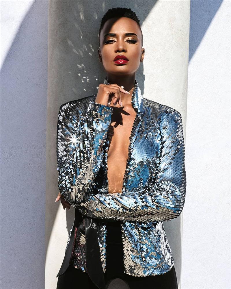 Bản tin Hoa hậu Hoàn vũ 3/9: Không ngờ cũng có ngày Hoàng Thùy lép vế thời trang trước dàn đối thủ-5