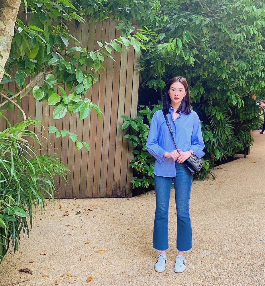 Hoa hậu Đặng Thu Thảo xuất hiện với gương mặt khác lạ đến fans ruột cũng chẳng nhận ra-6