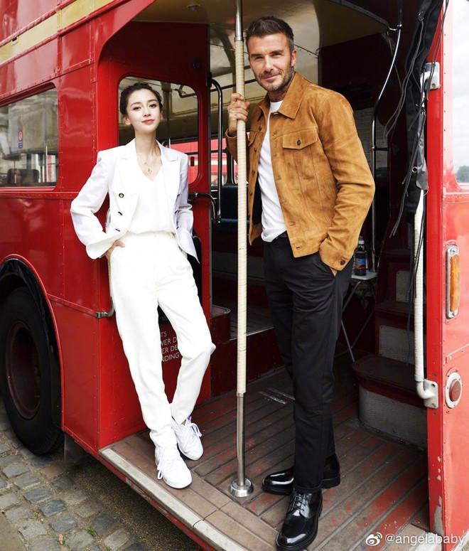 Angelababy sánh đôi bên David Beckham-2