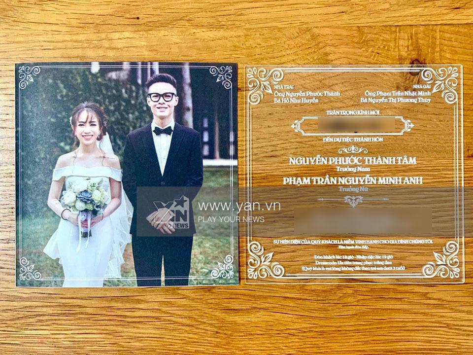 Hé lộ thiệp cưới độc đáo và loạt quy định khắt khe trong đám cưới của con gái đại gia Minh Nhựa-2